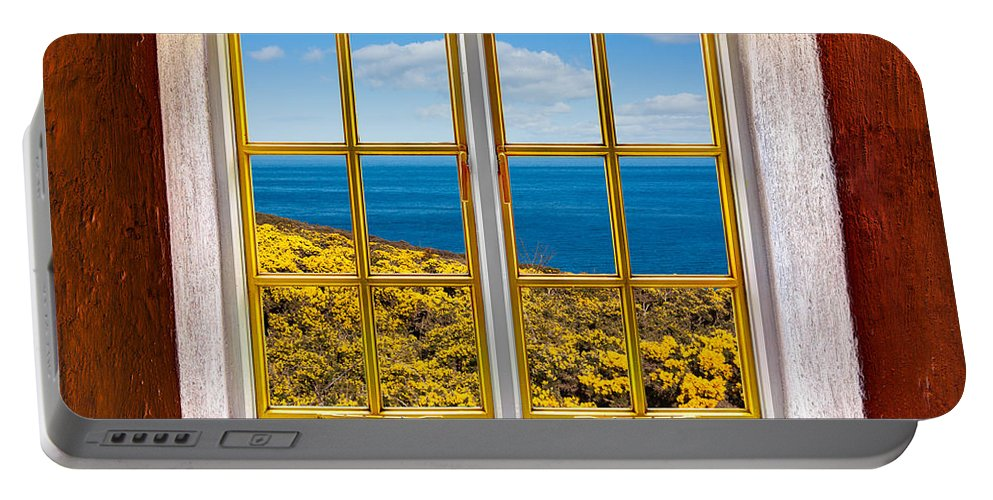 Architecture Portable Battery Charger featuring the photograph Ocean View by Semmick Photo