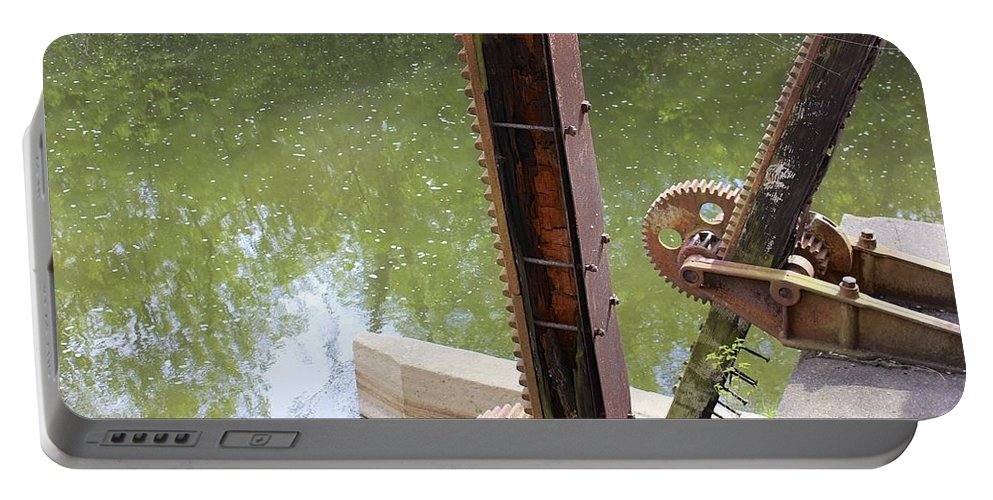 Mark J Dunn Portable Battery Charger featuring the photograph Ohio Erie Canal by Mark J Dunn