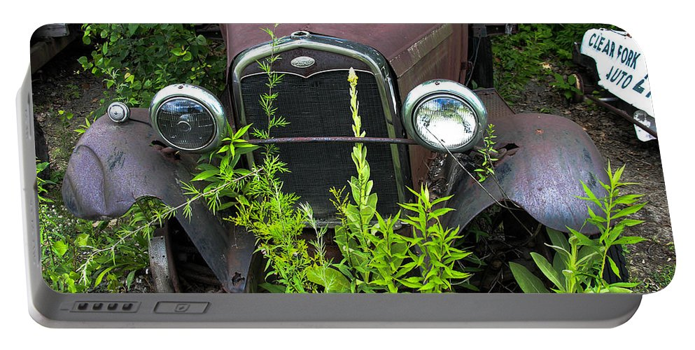 Antique Portable Battery Charger featuring the photograph Old And Rusty by Sherman Perry