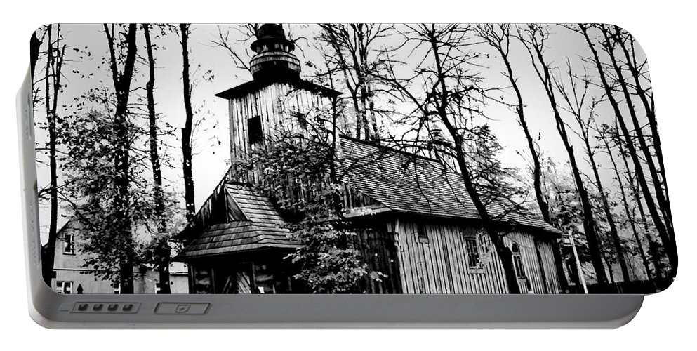 Old Church Portable Battery Charger featuring the photograph Old Church In Zakopane by Mariola Bitner