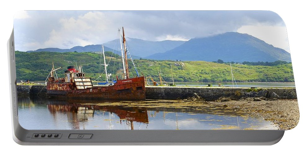 Pibroch Glascow Portable Battery Charger featuring the photograph Old Iron Sides by Charlie and Norma Brock