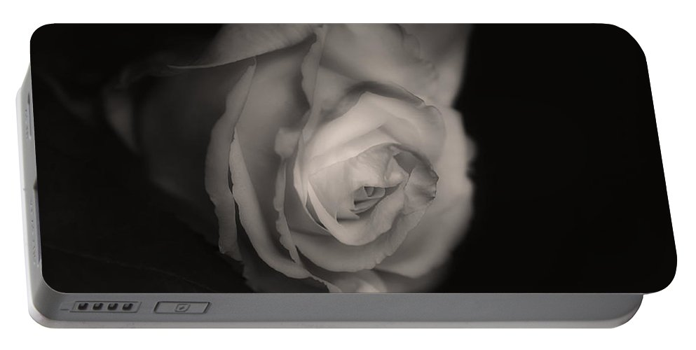 Rose Portable Battery Charger featuring the photograph Old Love by Claudia Moeckel