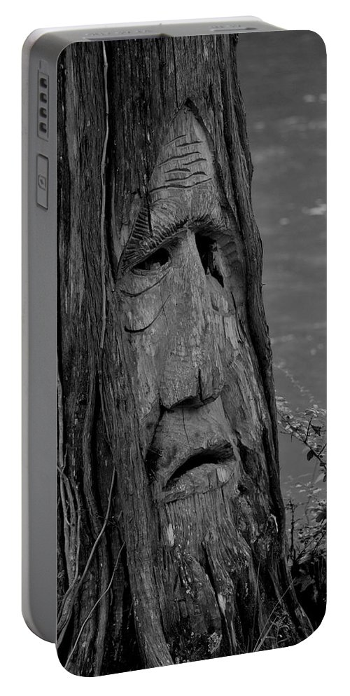 Old Man River Portable Battery Charger featuring the photograph Old Man River by Maria Urso