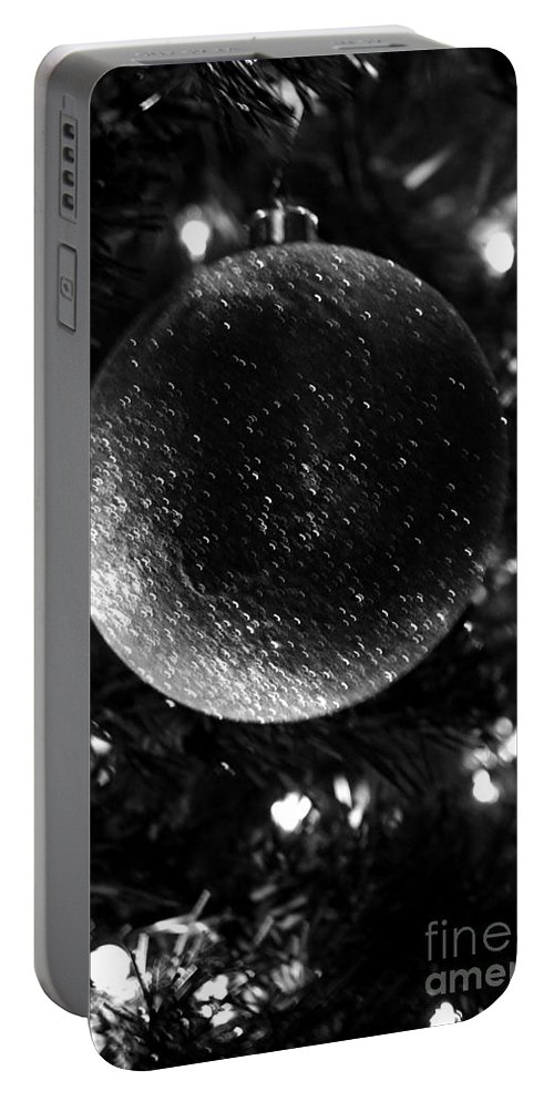 Old Time Christmas Portable Battery Charger featuring the photograph Old Time Christmas by Maria Urso