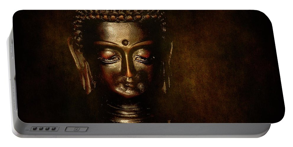 Festblues Portable Battery Charger featuring the photograph Old Wisdom... by Nina Stavlund