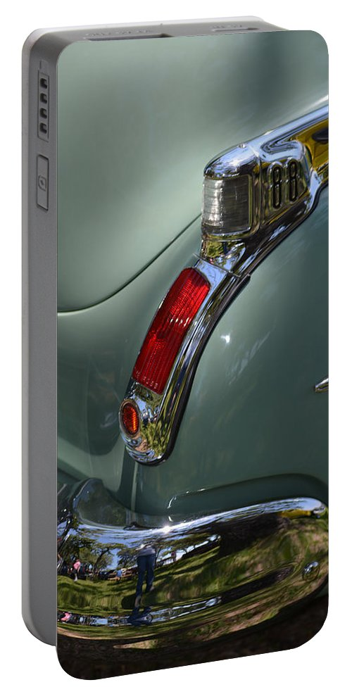 Olds Portable Battery Charger featuring the photograph Oldsmobile 88 by Gale Cochran-Smith