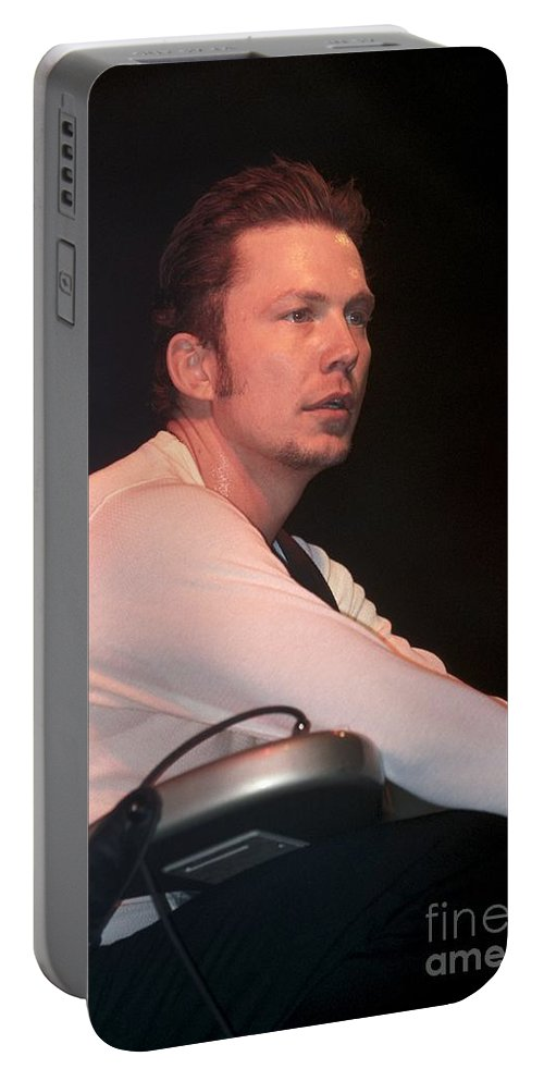 Guitar Portable Battery Charger featuring the photograph Oleander by Concert Photos