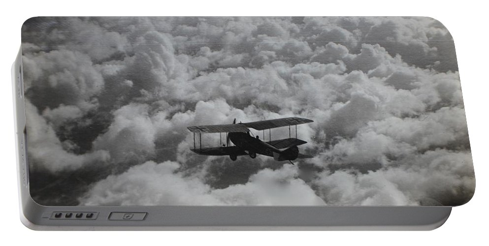 Albatros C.vii Portable Battery Charger featuring the photograph On The Hunt by Robert Phelan