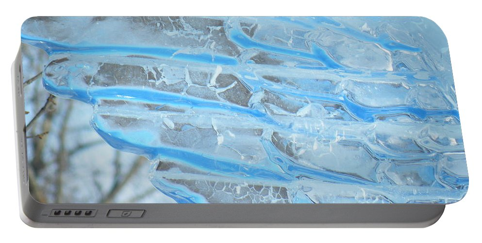 Wings Portable Battery Charger featuring the photograph On The Wings Of A Winter Wind by Brian Boyle