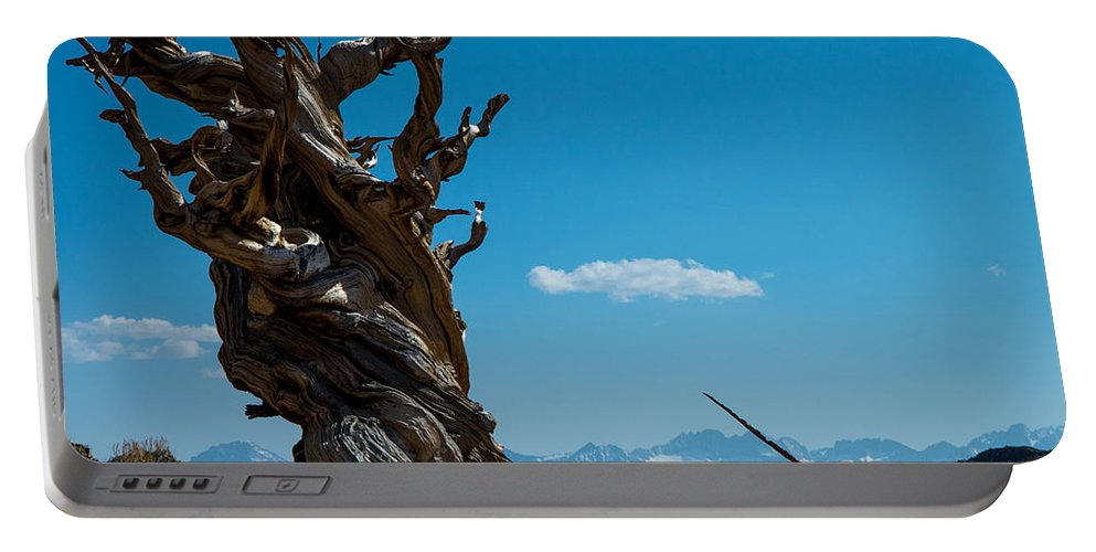 Peaks Portable Battery Charger featuring the photograph On Top Of The World by Stephen Whalen
