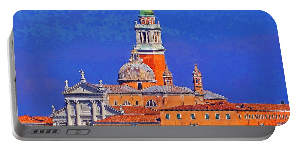 Venice Portable Battery Charger featuring the photograph Once Upon A City by Ira Shander