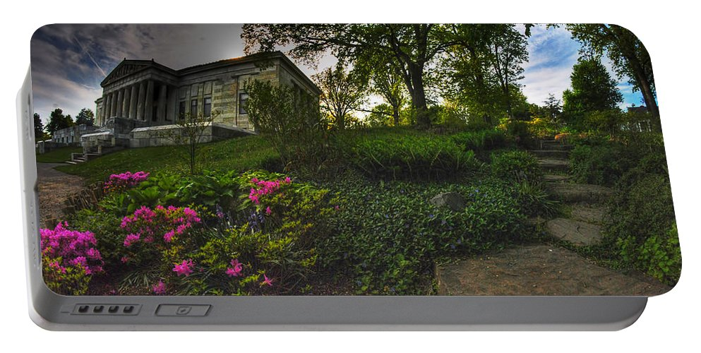 Garden Portable Battery Charger featuring the photograph One Of Many Paths...v2 by Michael Frank Jr