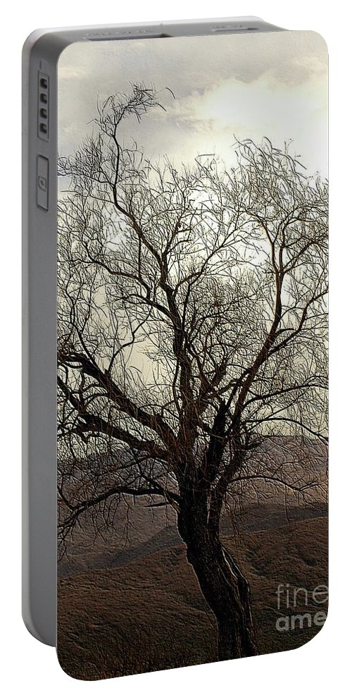 Tree Portable Battery Charger featuring the photograph One Tree by Kathleen Struckle