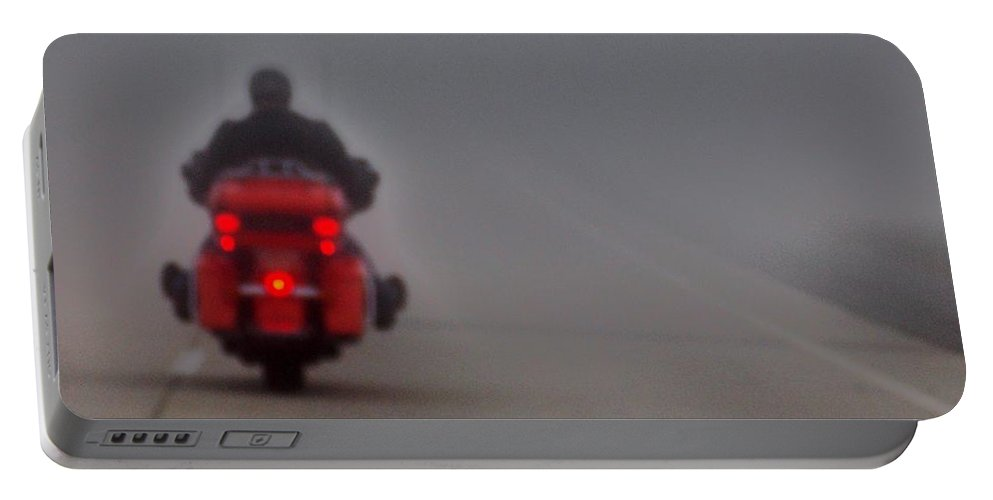 Destiny Portable Battery Charger featuring the photograph Onward Through The Fog by John Glass