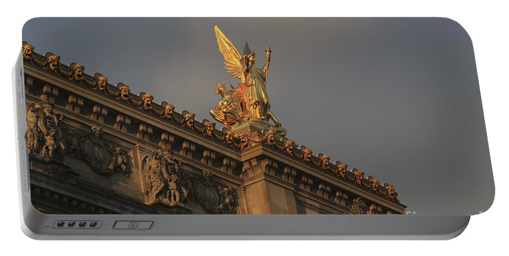 Opera Garnier Portable Battery Charger featuring the photograph Opera Garnier In Paris France by Louise Heusinkveld