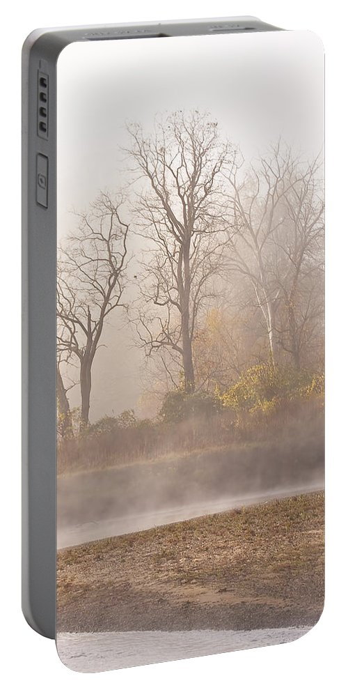 Landscape Portable Battery Charger featuring the photograph Out Of The Mist by Marcia Colelli