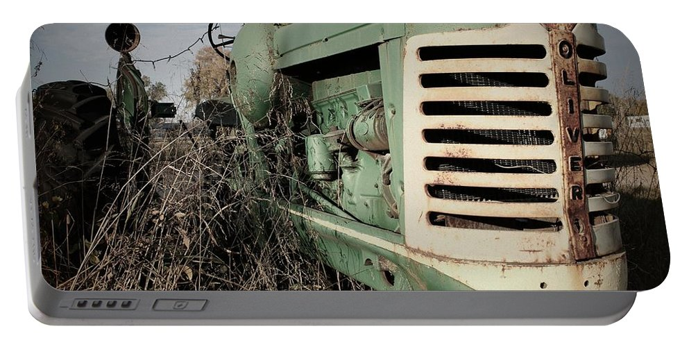 Northcutt Portable Battery Charger featuring the photograph Out To Pasture by Betty Northcutt