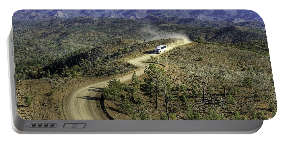 Outback Portable Battery Charger featuring the photograph Outback Tour by Ray Warren