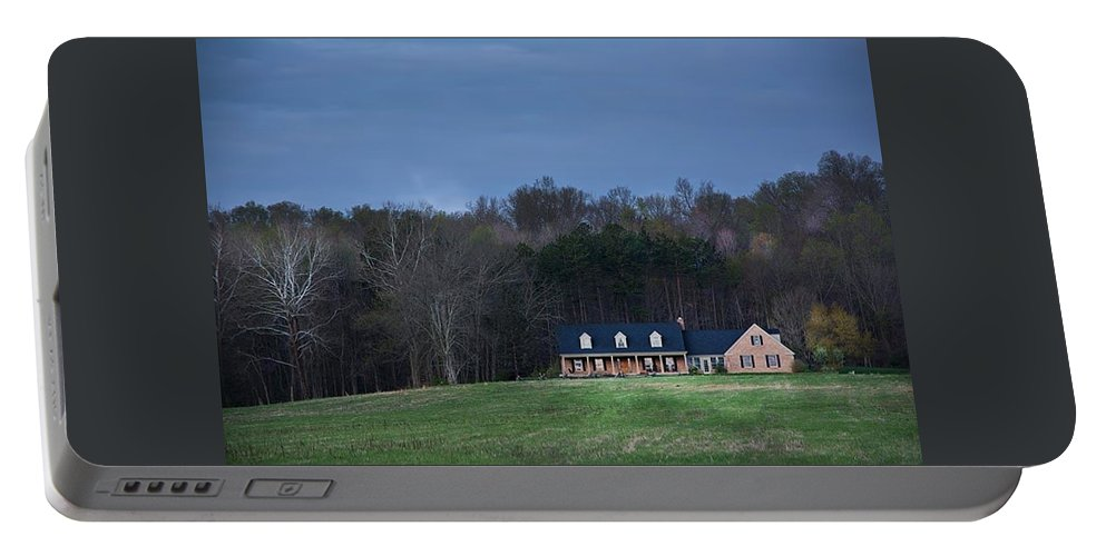 Portable Battery Charger featuring the photograph Outstanding In The Field by Randall Branham