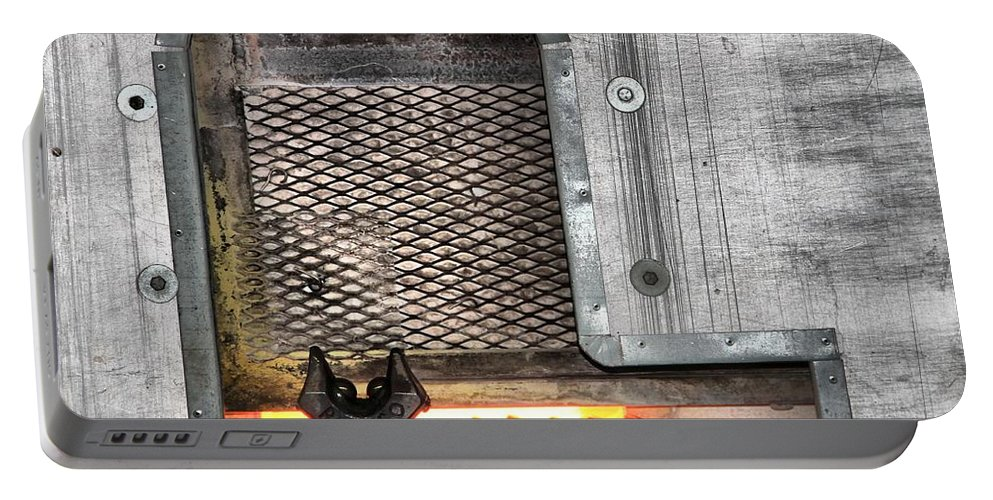 Oven Portable Battery Charger featuring the photograph Oven by Dan Sproul