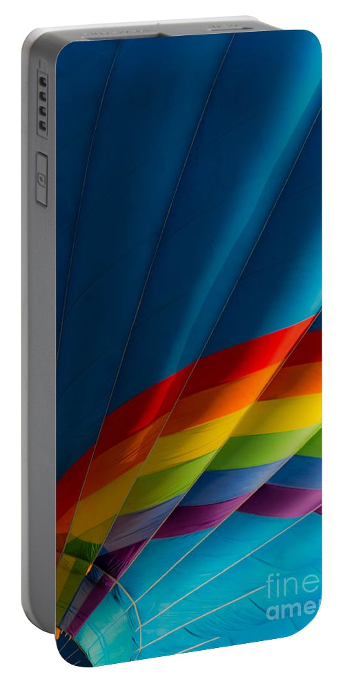 Hot Portable Battery Charger featuring the photograph Over The Rainbow by Colleen Coccia