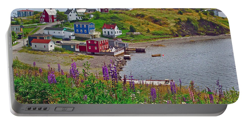 Overlooking Trinity Portable Battery Charger featuring the photograph Overlooking Trinity-nl by Ruth Hager