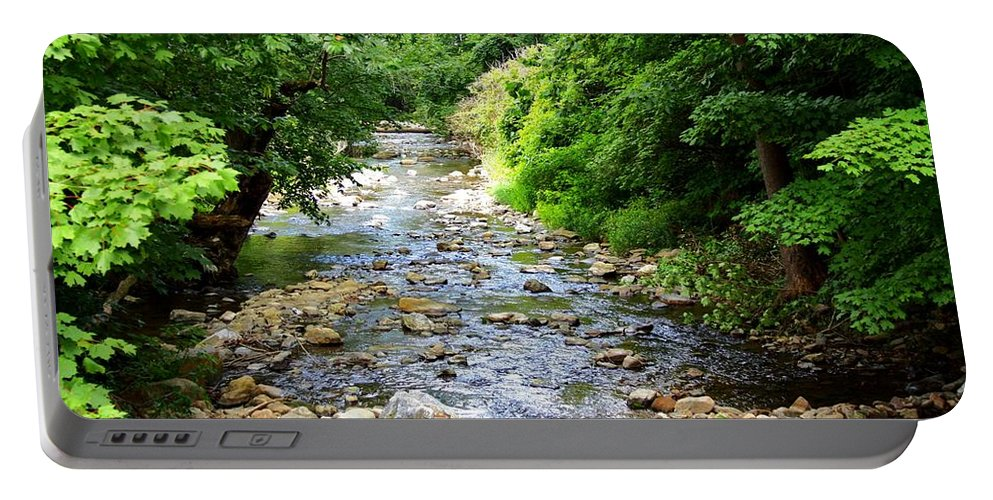 Owens Creek Portable Battery Charger featuring the photograph Owens Creek by Patti Whitten