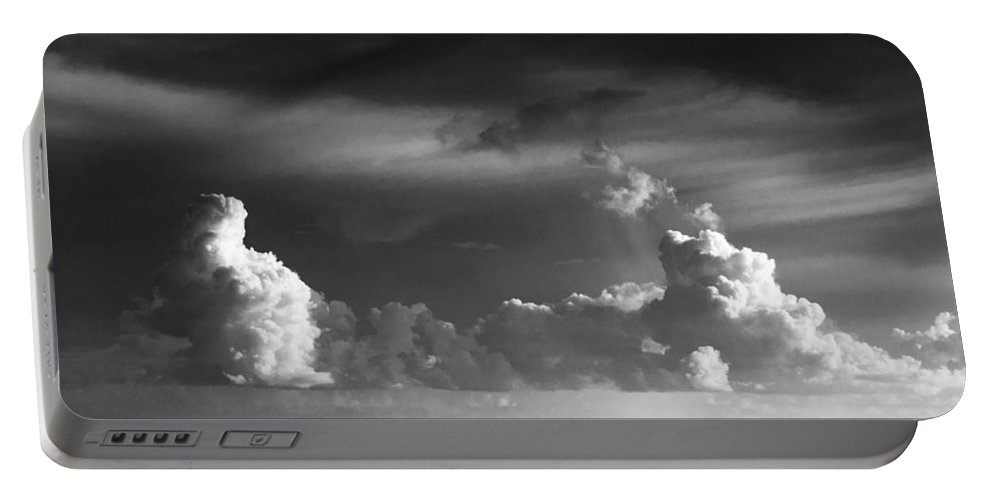 Clouds Portable Battery Charger featuring the photograph Pacific Clouds by Alex Snay
