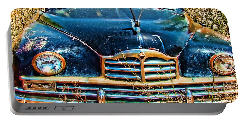 Packard Portable Battery Charger featuring the photograph Packard II by Cathy Anderson