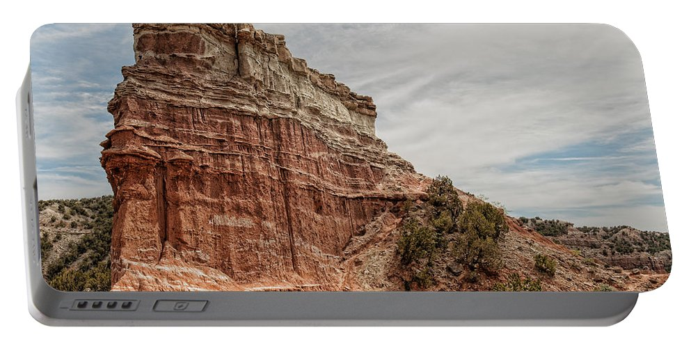 Palo Duro Canyon Portable Battery Charger featuring the photograph Palo Duro Canyon by George Buxbaum