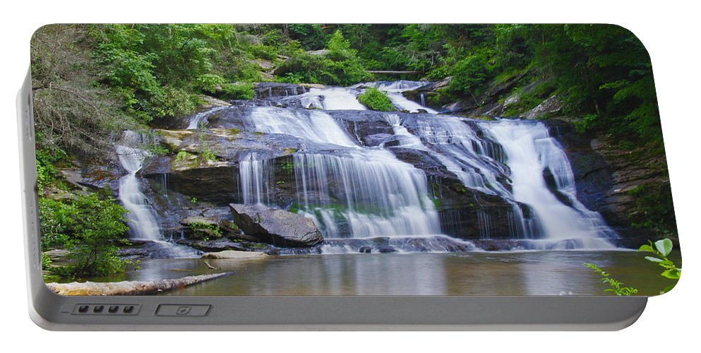 Panther Creek Falls Portable Battery Charger featuring the photograph Panther Creek Falls by Barbara Bowen