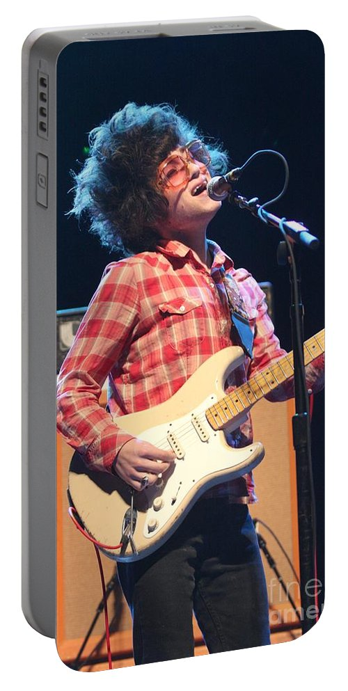 Paper Zoo Portable Battery Charger featuring the photograph Paper Zoo by Concert Photos