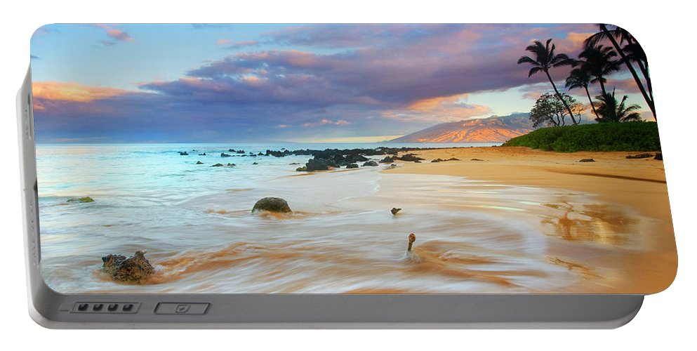Sunrise Portable Battery Charger featuring the photograph PAradise Dawn by Mike Dawson