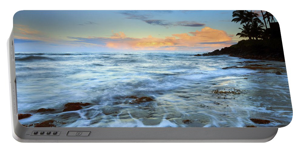 Koloa Portable Battery Charger featuring the photograph Paradise Sunrise by Mike Dawson