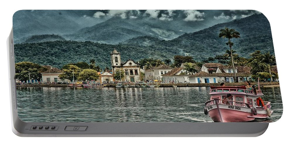 Historic City Portable Battery Charger featuring the photograph Paraty Bay II by Walcir Cardoso Jr