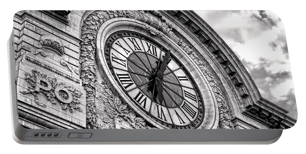 France Portable Battery Charger featuring the photograph Paris Orleans by Olivier Le Queinec