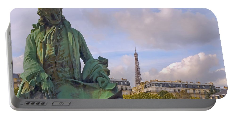 Paris Portable Battery Charger featuring the photograph Paris View #4 by Mick Burkey