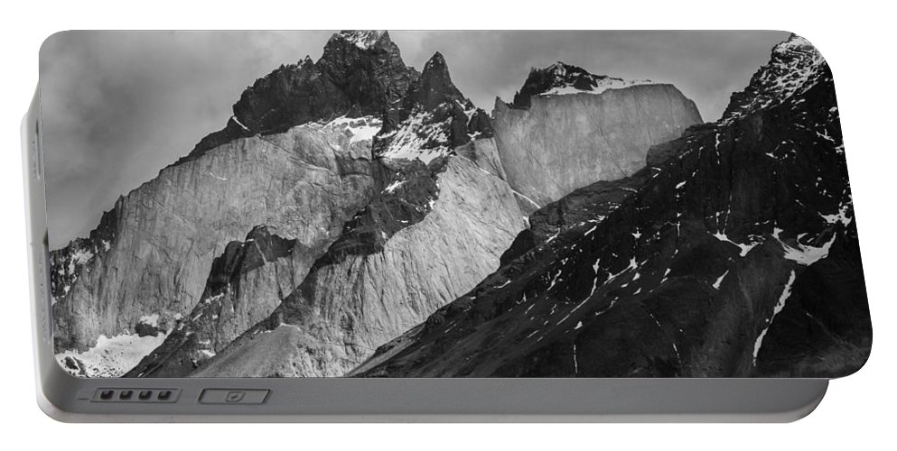 Patagonia Portable Battery Charger featuring the photograph Patagonian Mountains by David Hare