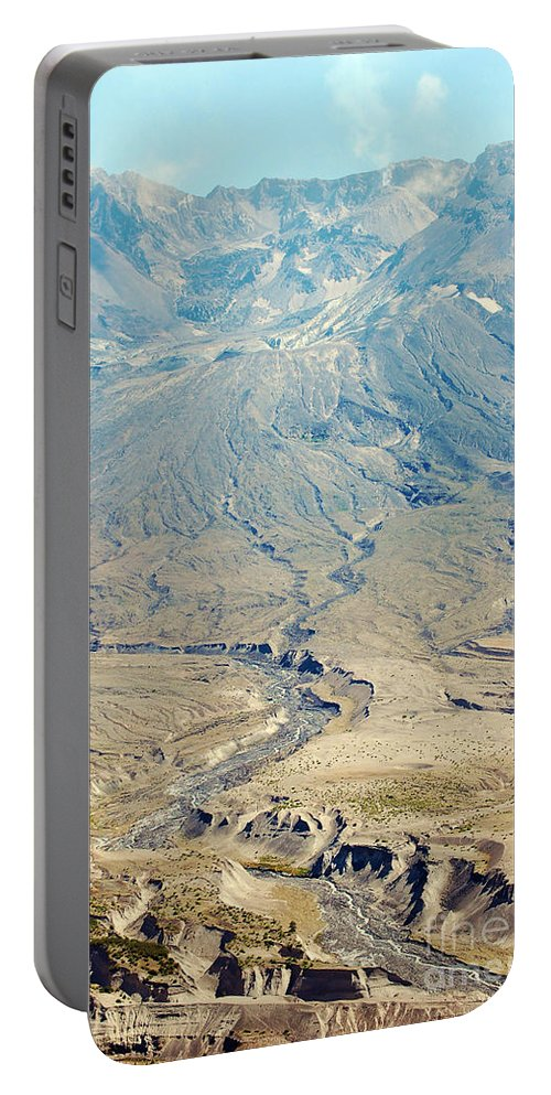 Valley Portable Battery Charger featuring the photograph Path Of Destruction by Flamingo Graphix John Ellis