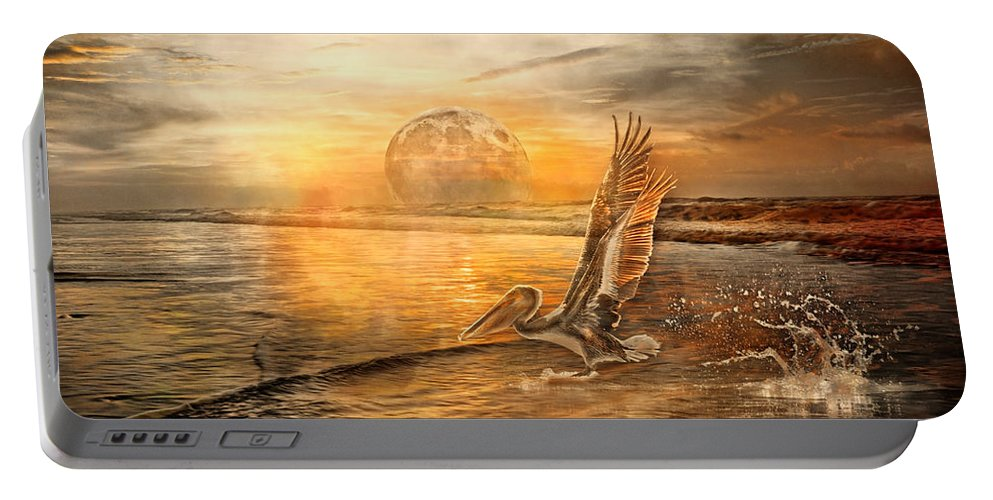 Pelican Portable Battery Charger featuring the photograph Peace by Betsy Knapp