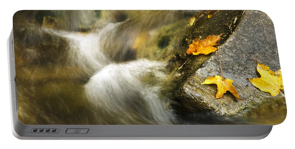 Peaceful Portable Battery Charger featuring the photograph Peaceful Creek by Christina Rollo