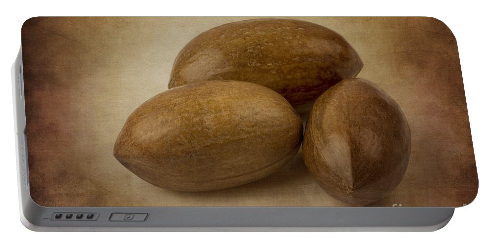 Clare Bambers Portable Battery Charger featuring the photograph Pecans. by Clare Bambers