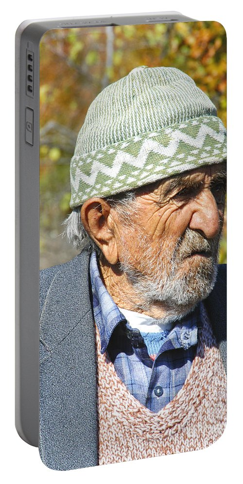 Safranbolu Portable Battery Charger featuring the photograph Pepe by Bob Phillips