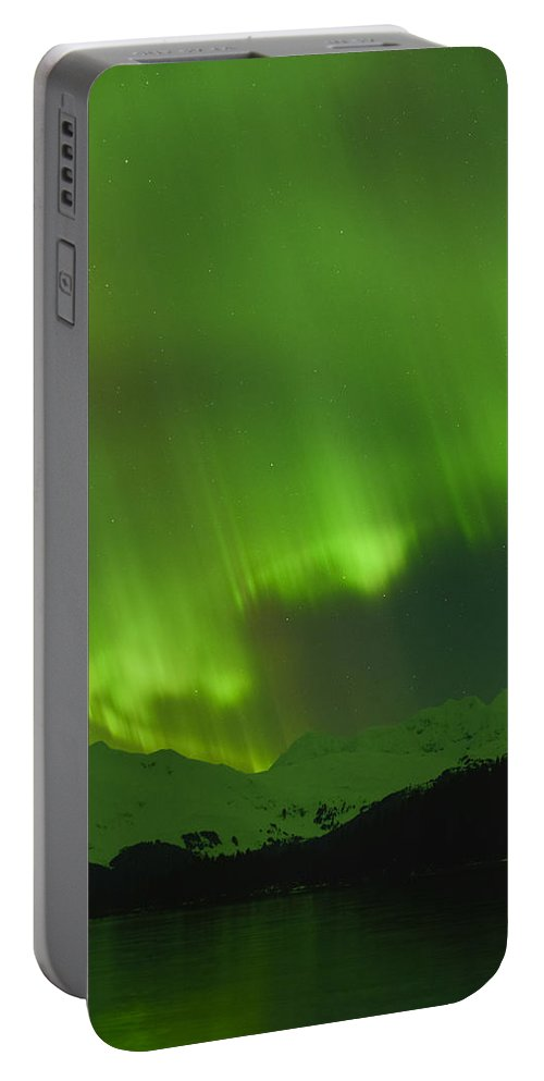 Aurora Portable Battery Charger featuring the photograph Perfect Form by Ted Raynor