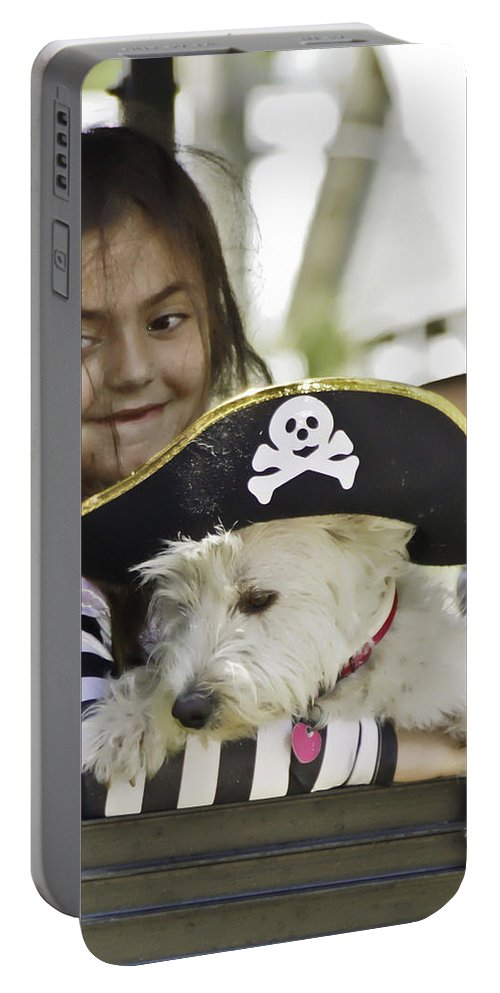 Pirates Portable Battery Charger featuring the photograph Perfect Pirates by James Ekstrom