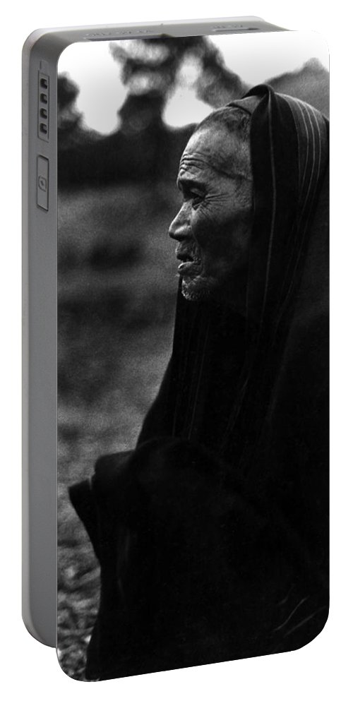 Montagnard Portable Battery Charger featuring the photograph Perseverance by Norman Johnson