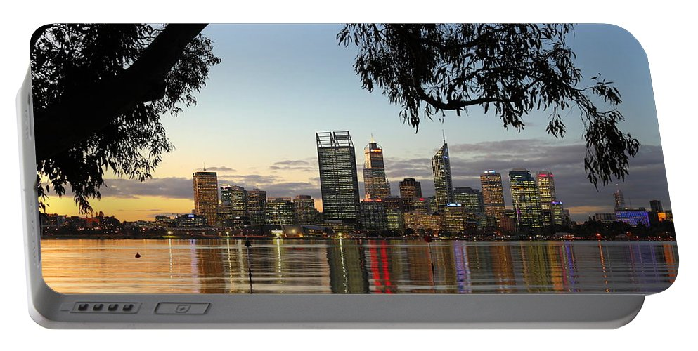 Perth Portable Battery Charger featuring the photograph Perth 2am-110873 by Andrew McInnes