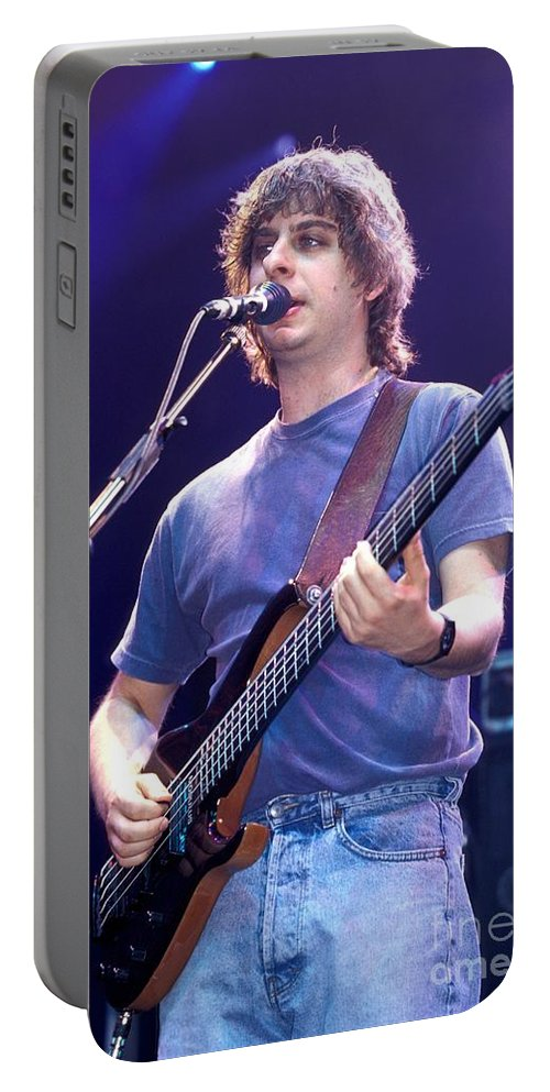 Concert Portable Battery Charger featuring the photograph Phish by Concert Photos