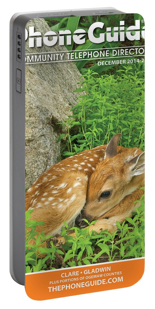 Portable Battery Charger featuring the photograph Phone Book Cover by Michael Peychich