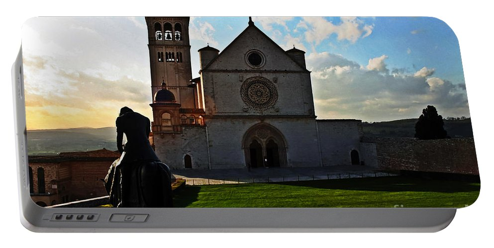 Travel Portable Battery Charger featuring the photograph Pilgrim by Elvis Vaughn